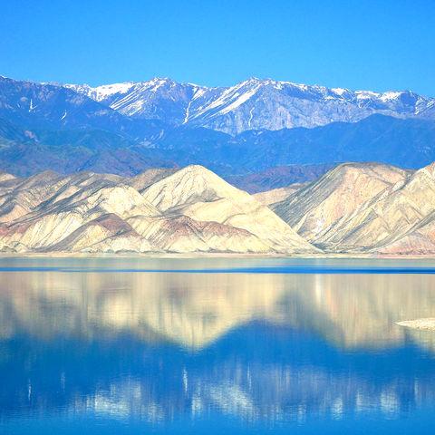 Toktogul Wasserreservoir, Kirgistan