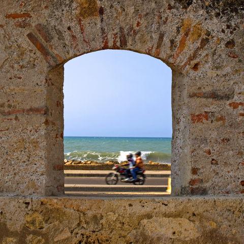 Fenster zum Meer, Kolumbien