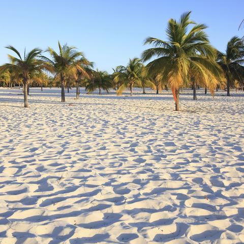 Der traumhafte Playa Sirena auf Cayo Largo, Kuba