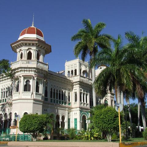 Der Palast von Cienfuegos, Kuba