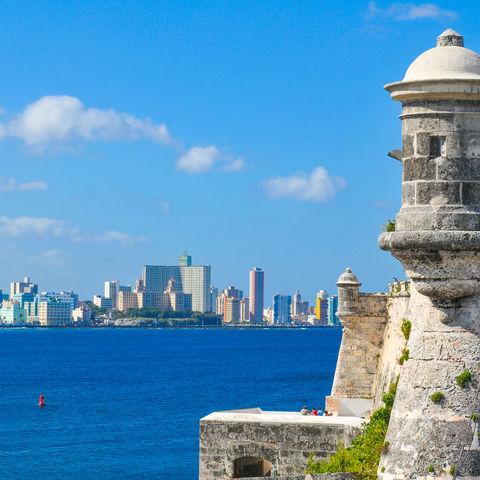 Den besten Blick aufs moderne Havanna? Von der El Morro Festung!, Kuba