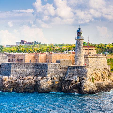 Eine von 3 Festungen in Havanna: Fortaleza de San Carlos de la Cabaña, Kuba