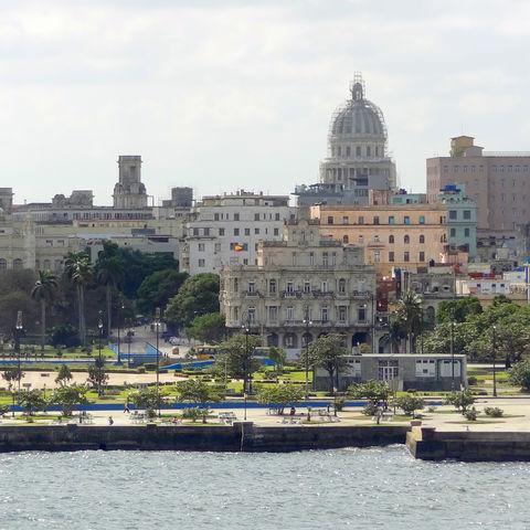 Uferansicht auf Havanna, Kuba