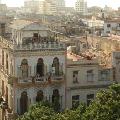Wohngegend in Havanna, Kuba