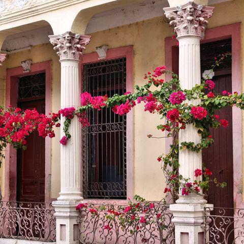 Romantischer Charme von Santiago, Kuba