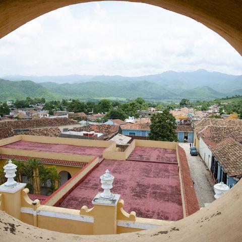 Panoramablick über Trinidad, Kuba
