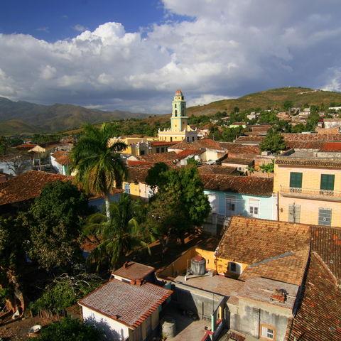 Stadtbild von Trinidad, Kuba