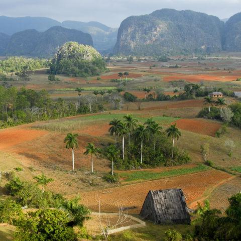Blick über das Tal von Viñales, Kuba