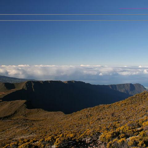 Berglandschaft, La Réunion