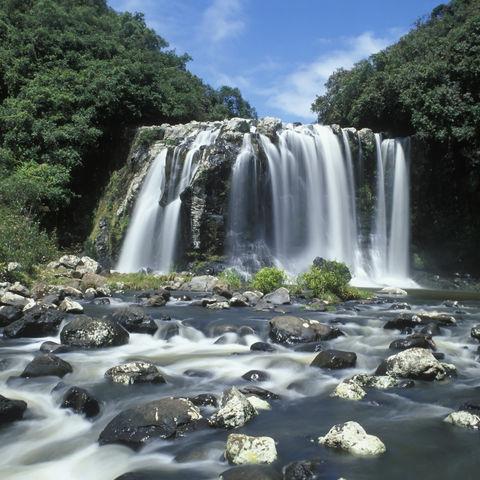 Wunderschöner Wasserfall, La Réunion