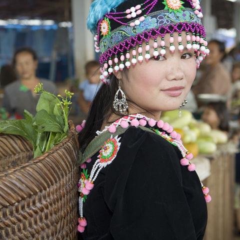 Hmong Frau, Laos