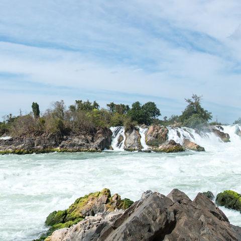 Wasserfälle Khone Phapheng, Laos