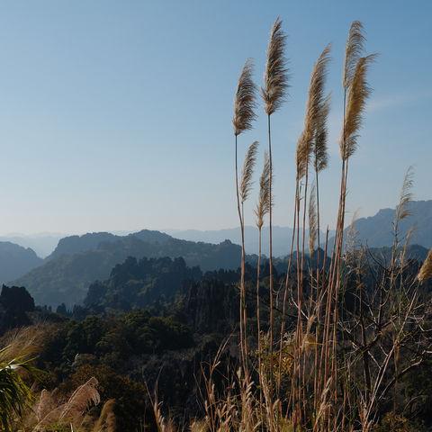 Landschaft von Kong Lor, Laos