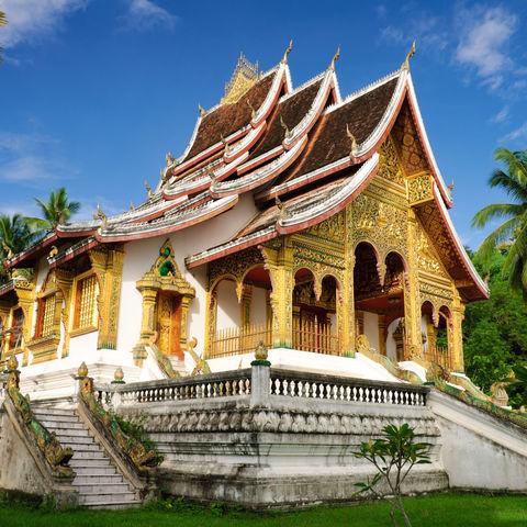 Königspalast und Nationalmuseum in Luang Prabang, Laos