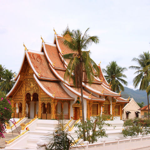 Königspalast Haw Kham in Luang Prabang, Laos