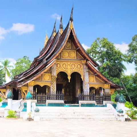 Wat Xieng-Zapfen Tempel in Luang Prabang, Laos