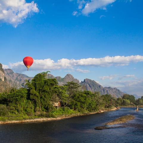 Umgebung von Vang Vieng, Laos