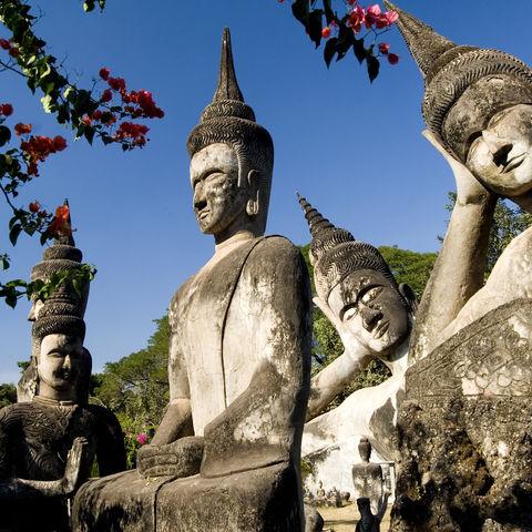 Buddha-Park in der Nähe von Vientiane, Laos
