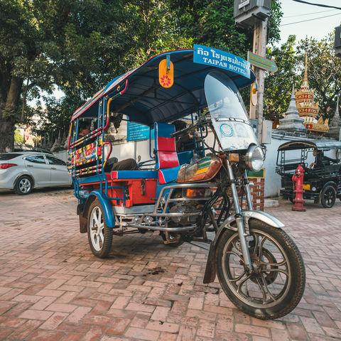 Was wäre Laos ohne Tuk Tuks?, Vientiane, Laos