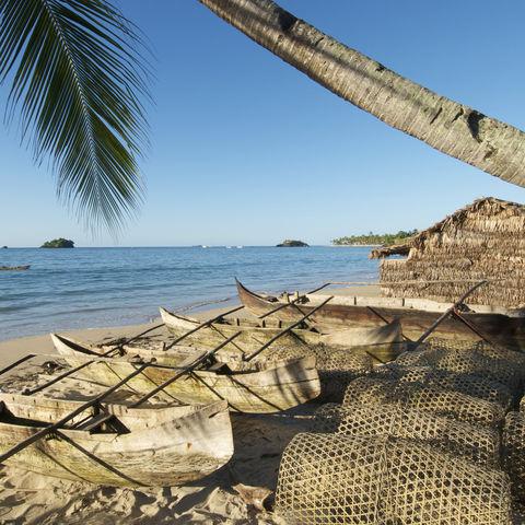 Altes Fischerdorf, Madagaskar
