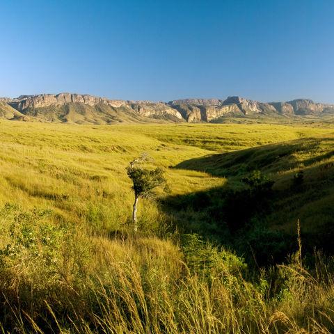 Landschaft im Isalo Nationalpark, Madagaskar