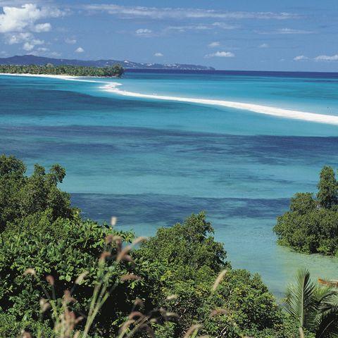 Blick auf die kleine Trauminsel Nosy Iranja, Madagaskar