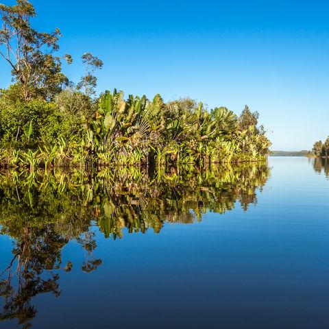 Verwunschene Seelandschaft: Pangalanes Kanal, Madagaskar