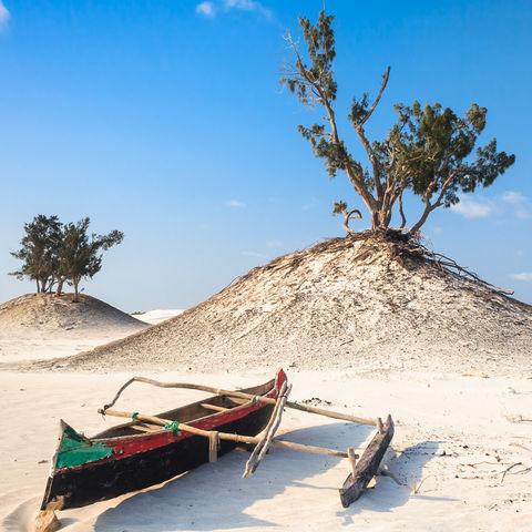 Dünen am Strand, Madagaskar