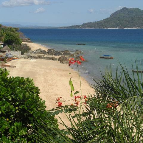Malerischer Strand, Madagaskar