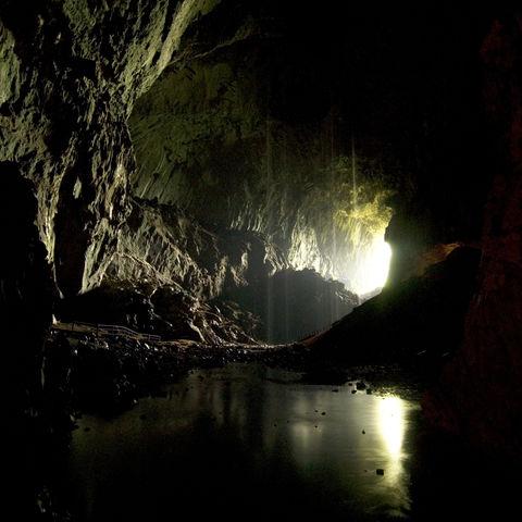 Höhle im Mulu-Nationalpark, Malaysia
