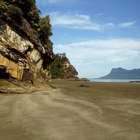 Strand im Bako-Nationalpark, Malaysia