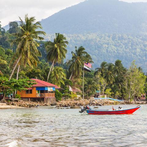 Die Tioman Insel vor der Ostküste, Malaysia