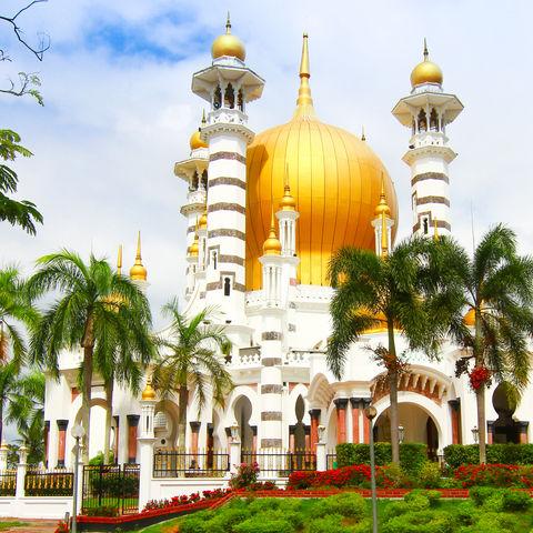 Die schönste Moschee Malaysias? Ubudiah Moschee, Kuala Kangsar, Perak, Malaysia