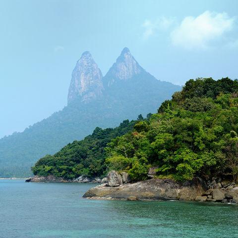 Mukut Beach auf der Insel Tioman, Malaysia