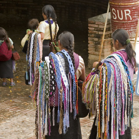 Indianer in Chiapas, Mexiko