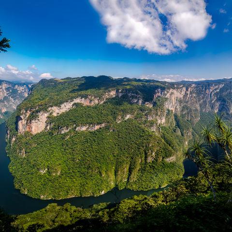 Blick auf den Sumidero Canyon, Mexiko
