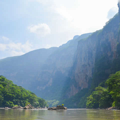 Sumidero Canyon in Chiapas, Mexiko