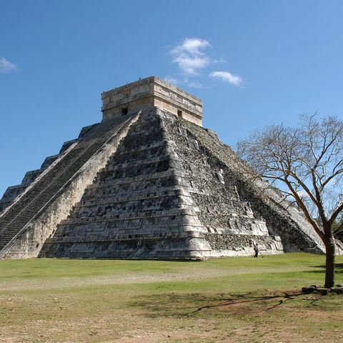 Pyramide in Chichén Itzá, Mexiko