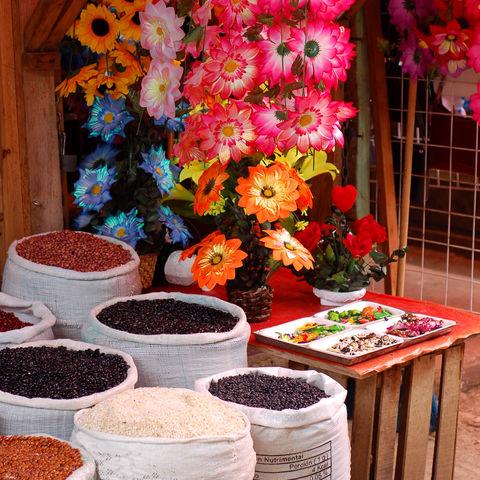 Blumen und Bohnen, Mexiko