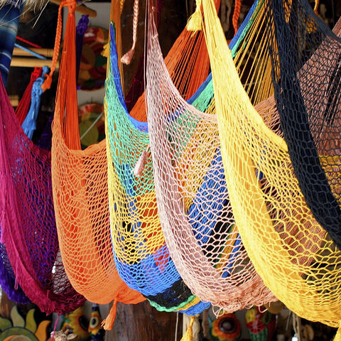 Bunte Hängematten, Mexiko