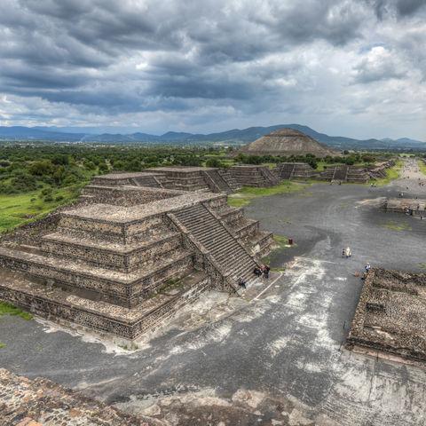 Pyramdien von Teotihuacan, Mexiko
