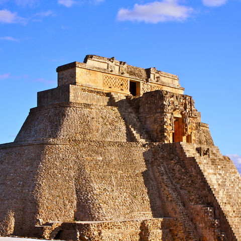 Pyramide in Uxmal, Mexiko