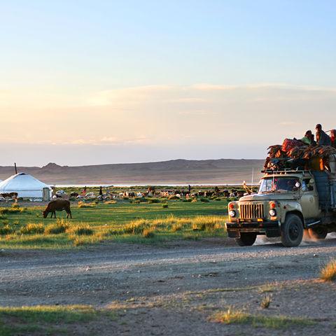 Typisches Alltagsleben, Mongolei