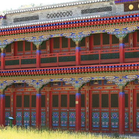 Buddhistisches Kloster, Mongolei