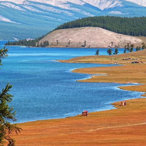 Süßwasserreservoir: Chöwsgöl Nuur See, Mongolei