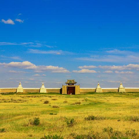 Überreste der Residenz Dschingis Khans: Karakorum und das heutige Erdene Dsuu Kloster, Mongolei