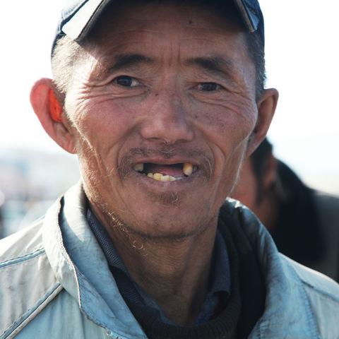 Herzlichkeit überall!: Lächelnder Mongole, Mongolei