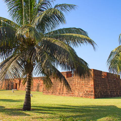 Alte portugiesische Festung in Maputo, Mosambik