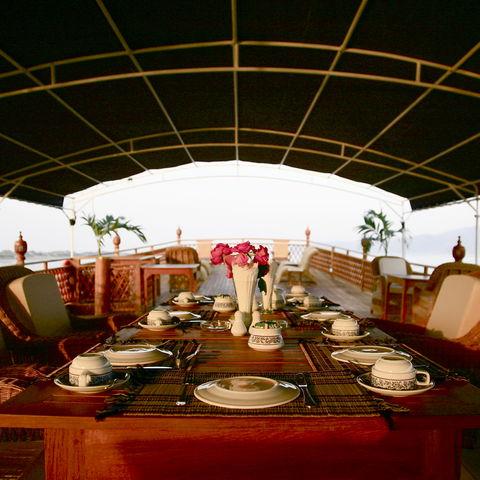 Speisesaal mit Aussicht, Myanmar