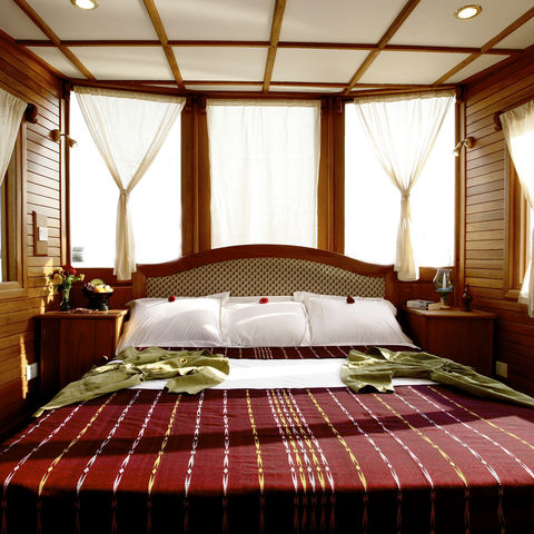 Suite auf der Amara, Myanmar